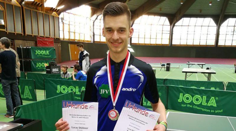 Lucas Stübner doppelter Vize-Hessenmeister