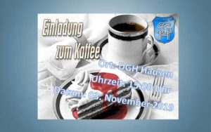 Kaffeenachmittag der SG Hausen @ DGH Hausen