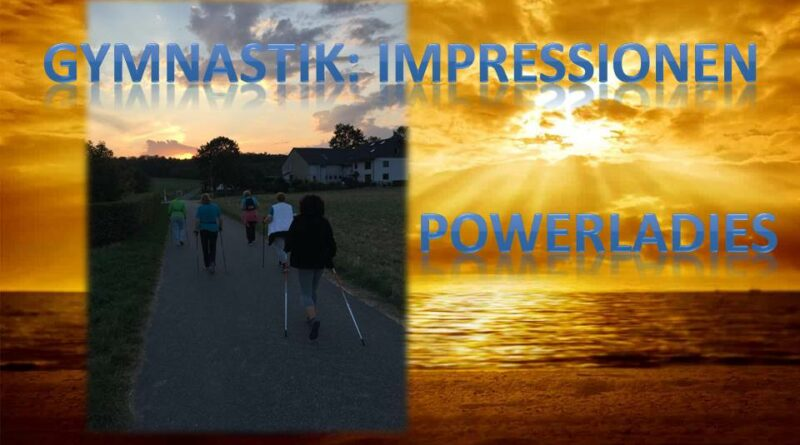 Gymnastik: Impressionen – Powerladies