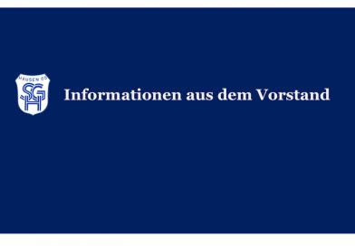 SG Hausen Jahreshauptversammlungam 28.04.2018 um 19.30 Uhr