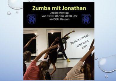 Zumba mit Jonathan